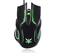 Phoebo G500  USB Wired Gaming Mouse With Colorful LED Light Luminous 6D 600/800/1600/2400dpi