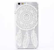 Wind Chimes Pattern Plastic Hard Cover for iPhone 6