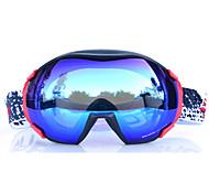 BASTO Snow Googgles Black Frame Skyblue Sensor Mirror Lens
