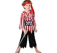 Striped Pirate Sailor Kids Halloween Costumme