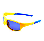 Sunglasses Boy / Girl / Kids's Classic / Sports / Fashion / Sunglass Style Rectangle Yellow Cycling Full-Rim