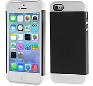 Link Dream Contrast Color Lightweight Fashion Bumper Shell Case Protective Back Cover for iPhone 5