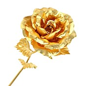 Valentine's Day Gift 24K Gold Foil Rose-Open