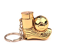 Golden Ball Football Boots Red Copper Pendant Creative Windproof Lighters