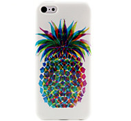Pineapple  Pattern TPU Soft Case for iPhone 5C
