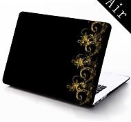 Elegant Decorative Design Full-Body Protective Plastic Case for 11-inch/13-inch New Mac Book Air