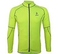 Arsuxeo Men's Breathable Long Sleeve Cycling Jersey