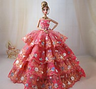 Barbie Doll Cinderella's Magic Ball Gown