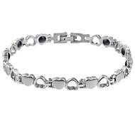 pesonalized titânio pulseira de aço presente liwuyou anti-fadiga
