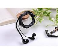 Gofo élégant écouteurs de 3,5 mm avec microphone pour iphone iphone 6 6 plus / 5s / 5/4 / 4S / Samsung