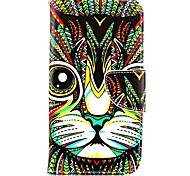For Motorola Case Wallet / Card Holder / with Stand / Flip Case Full Body Case Cat Hard PU Leather Motorola