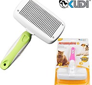Practical Automatic Cleaning Comb for Pet Dogs(Random Colour) Size S