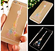 Colorful Eiffel Tower Pattern Hard Back Case for iPhone 6