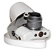 dengpin® пу кожаный чехол для камеры сумка чехол для Olympus PEN электронной PL7 epl7 с 17мм или объективом 14-42мм