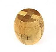 juguete juego desbloqueo rompecabezas barrica de madera