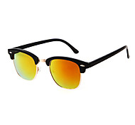Anti-Fog Browline Plastic Fashion Sunglasses