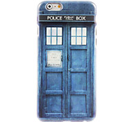 Police Box Design Hard Case for iPhone 6