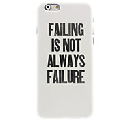 perder projetar duro para o iPhone 6