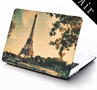 Paris Eiffel Tower Full-Body Protective Plastic Case for 11-inch/13-inch New Mac Book Air
