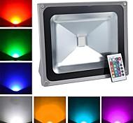 Lâmpada de Alta Intensidade Controle Remoto 50 W 4900 LM K RGB 1 LED de Alta Potência AC 85-265 V