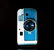 étui rigide de modèle de la caméra pour les mini i8190 samsung galaxy