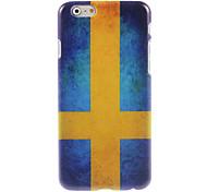 Swedish Flag Design Hard Case for iPhone 6