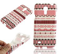 For Samsung Galaxy Case Pattern Case Back Cover Case Geometric Pattern TPU Samsung S4 Mini