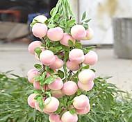 Peach Bunch Decorative Fruit