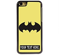 Personalized Case Cartoon Design Metal Case for iPhone 5C
