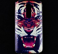 Roaring Tiger Pattern PC Hard Case Frame for LG G2