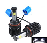 CONQUER 2PCS 20W 2000-4000 Lumens 9007  High Power High Brightness Cree LED Headlight for Car