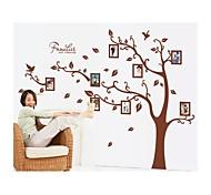 decalques de parede adesivos de parede, memória estilo fotos da árvore de parede pvc etiquetas