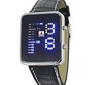 Orologio sportivo - Per uomo - Quarzo - Digitale - LED/LCD/Calendario/Cronografo/allarme