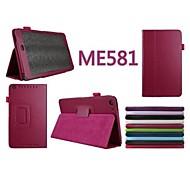 """Caja de la tableta - Asus - MeMO Pad 8(ME581C) - Fundas con Soporte/Fundas  Completas - 8 """" - para Asus - Un Color -"""