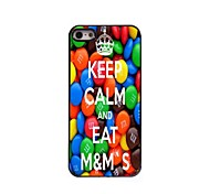 Keep Calm and Eat M&M's Design  Aluminum Case for iPhone 5/5S