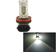 Carking™ Auto Car H11 80W 16SMD LED Headlight Fog Light Bulb-White(12V 1PC)
