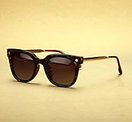 alliage wayfarer rétro lunettes de soleil polarisées femmes