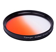 TIANYA 67mm Circular Graduated Orange Filter for Nikon D7100 D7000 18-105 18-140 Canon 700D 600D 18-135