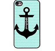 Hope To Anchor Design Aluminum Case for iPhone 4/4S