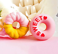 Cute Donuts Shape Cartoon Earphone Cable Wire Cord Organizer Cable Winder