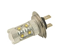 Carking™ Auto H7 60W 12SMD LED Headlight Foglight Bulb-White(12V 1PC)