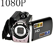 1080p videocamera digitale full hd 16x zoom digitale dv kit fotocamera nero