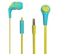 BEBONCOOL™  Universal Earphone  for Iphone/HTC/Samsung/Huawei , Headphone  with  Mic and Volume Control(Assorted Colors)