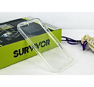 For iPhone 5 Case Transparent Case Back Cover Case Solid Color Soft TPU iPhone SE/5s/5