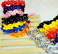 Nylon Lace Collar  for  Pets 1cm(Assorted  Colors)