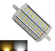 R7S 9W 42 SMD 5730 780-850 LM Warm White / Cool White T Dimmable LED Corn Lights AC 85-265 V
