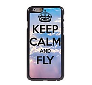 Keep Calm and Fly Design  Aluminum Case for iPhone 6