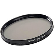 TIANYA 72mm CPL Circular Polarizer Filter for Canon 15-85 18-200 17-50 28-135mm Lens