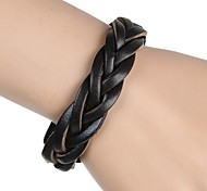 European And American Retro Hand-Woven Leather Leather Bracelet (Multicolor)
