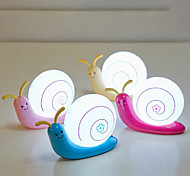 5W LED Snail Cartoon Energy Saving Charge Small Night Table Lamp 220V (Assorted Colors)